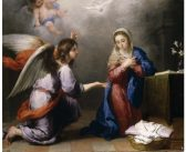 La Anunciación del Señor a la santísima Virgen María a través del ángel Gabriel