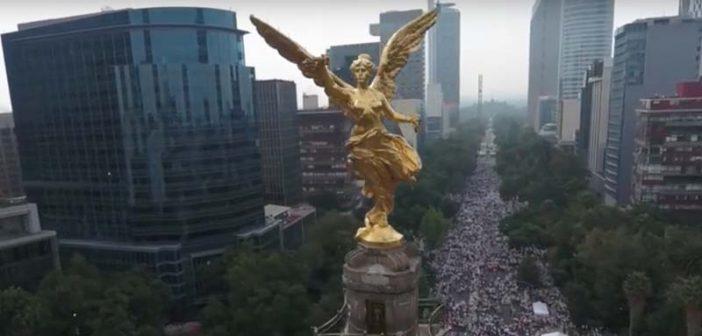 Marcha por la familia en México