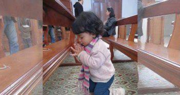 ¿Cómo enseñas a tus hijos a rezar?