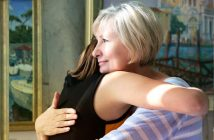 abrazarla