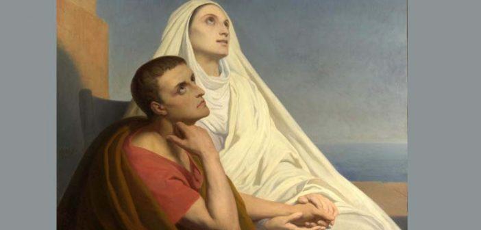 Oración de las madres a santa Mónica por un hijo descarriado