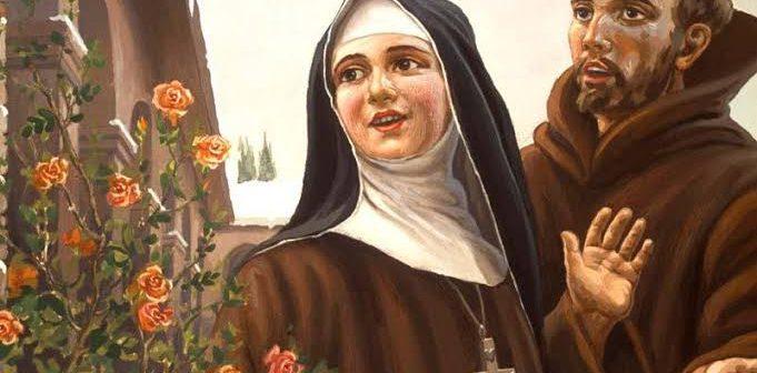 El valiente amor a la Eucaristía de Santa Clara que desbarató la violencia
