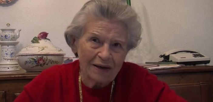 Noëlla, superviviente del campo de concentración por la gracia de Dios, escapé de la cámara de gas dos veces
