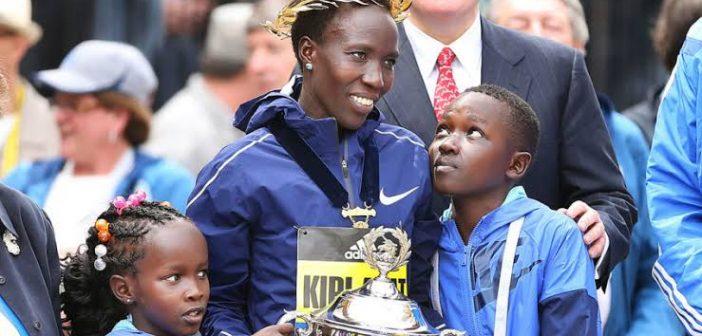Edna Kiplagat, madre de cinco hijos y bicampeona mundial de maratón
